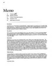 sample justification report - TO JOHN FROM JACOB DATE
