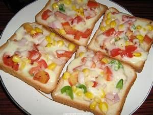 Vegetable Cheese Toast Recipe | Cheese Toast Recipe ...