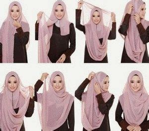 tutorial hijab menutup dada  kebaya terbaru
