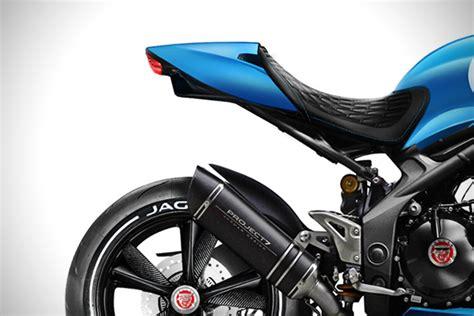Jaguar Project 7mc Concept Motorcycle Hiconsumption