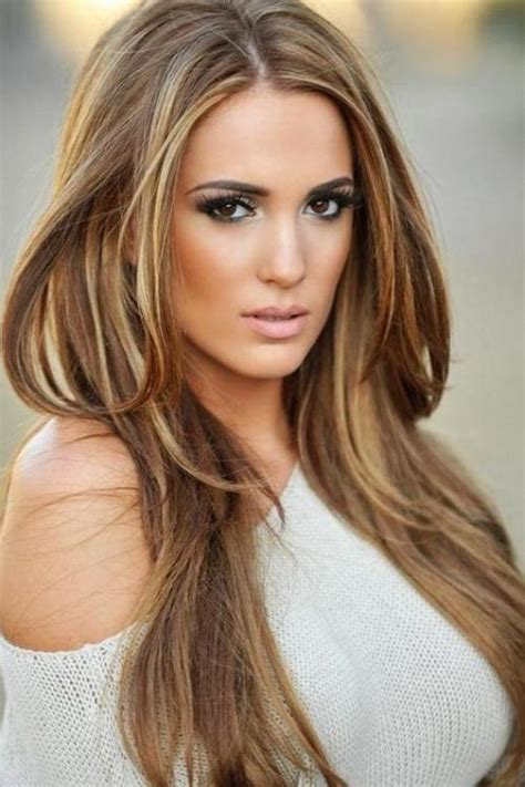 light brown with blonde highlights dark brown hair and blonde highlights