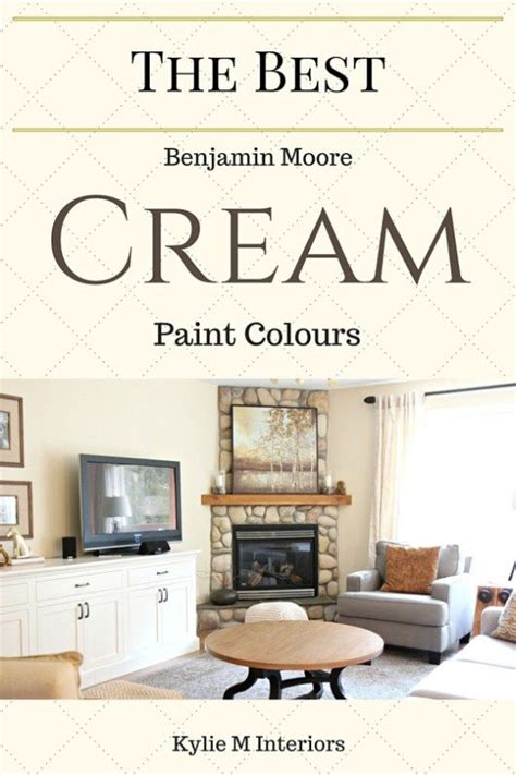 the best cream paint colours benjamin moore cream paint