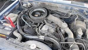 1985 Nissan  Datsun 720d Z24 Engine