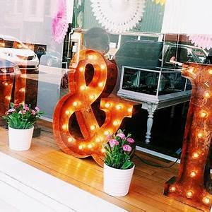 marquee letters vintage and letters on pinterest With nicole s letter shop wooden marquee letters