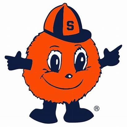 Syracuse Orange University Mascot Otto Logos Clipart