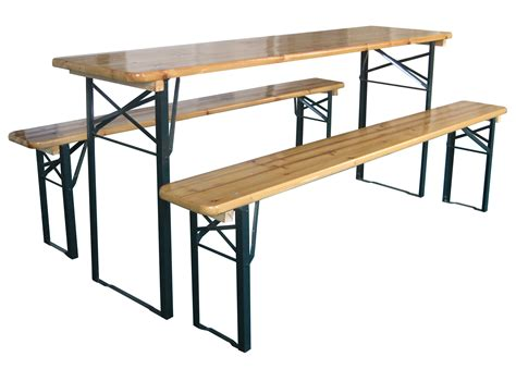 folding table with bench german festival folding table garden patio furniture