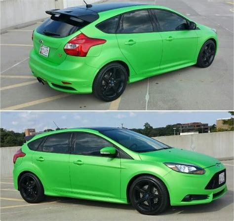 ford focus mk3 st light green ford focus st mk3 ford focus st tuning