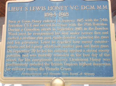 legion plaque lieut  lewis honey simply explore culture