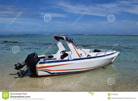 Speed Boat Engine by Speed Boat With Outboard Motor Engine Stock Photo Image