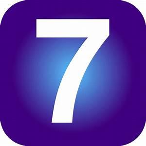 Number 7 PNG SVG Clip Art For Web Download Clip Art