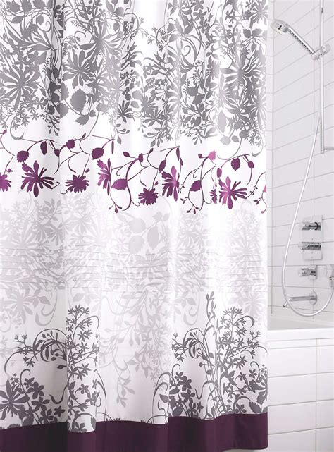 purple shower curtain ideas purple shower curtain kohls