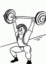 Drawing Weights Weight Coloring Getdrawings sketch template