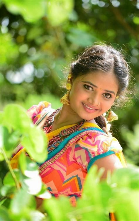 Lovely heroine shanvi photo gallery. Telugu Actress Shreya Vyas Stills in Half Saree Photos