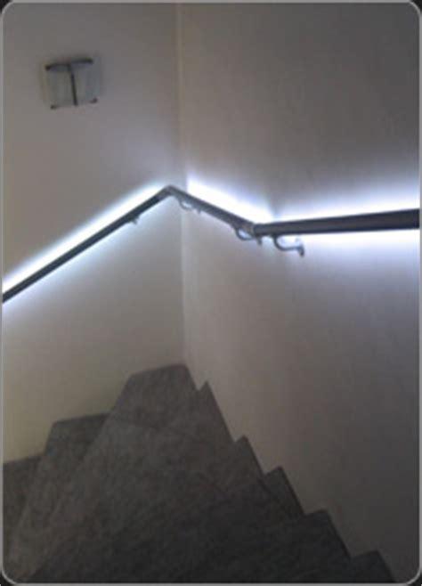 handlauf mit led flexo handlauf systeme handl 228 ufe mit led beleuchtung