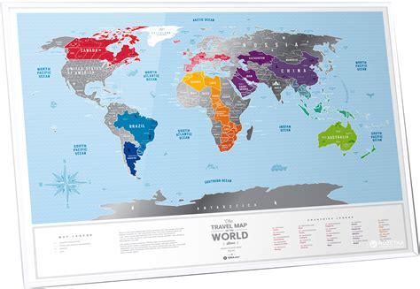 ROZETKA   Скретч-карта мира 1DEA.me Travel Map Silver (SW). Цена, купить Скретч-карта мира 1DEA ...