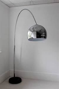 large chrome arch floor lamp by out there interiors With floor lamp not on the high street