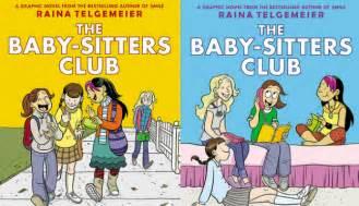 Books by Raina Telgemeier Baby Sitters Club