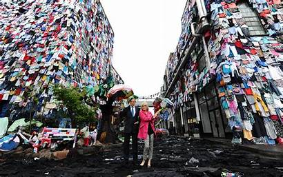 Oxfam Campaign Clothes Fabric Uses Collaborate Launch