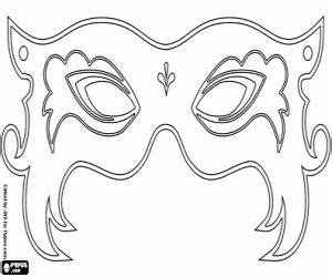 ausmalbilder masken malvorlagen