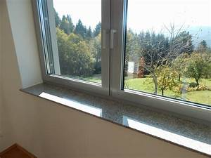 Fensterbänke Innen Naturstein : fensterb nke granit marmor fensterb nke f r innen und au en von naturstein ~ Frokenaadalensverden.com Haus und Dekorationen