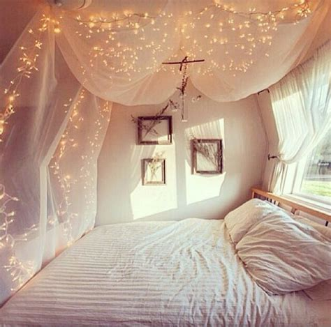 twinkle lights for bedroom bedroom shabby chic netting floaty lights tea fairy 17654 | 67fcd69cf9fe9339e60d3a0ccca87ad5