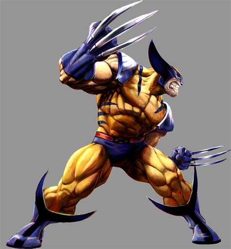 Marvel Vs Capcom 2 Wolverine By Udoncrew On Deviantart