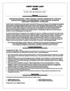 Contracts Administrator Resume by Contract Administrator Resume Template Premium Resume Sles Exle