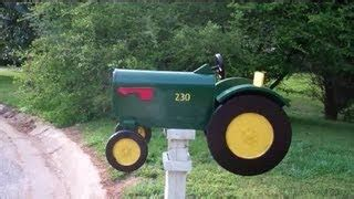 tractor mailbox woodworking plans woodworking projects