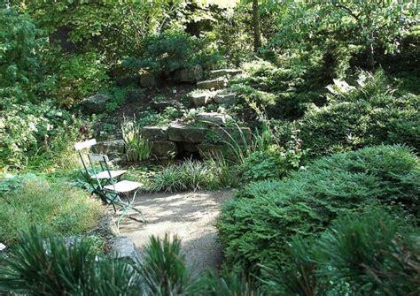 Wasser Im Steingarten
