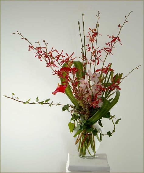 orchid arrangements orchid basket arrangements tropicals yukiko 39 s floral design