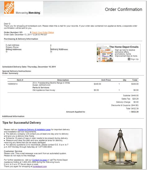home depot order lookup home depot raising regular sales prices during holiday appliance sale images frompo