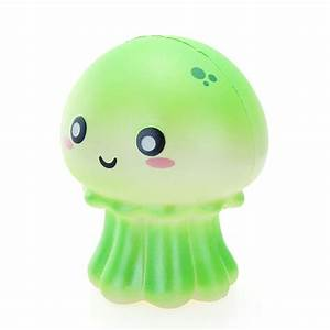 Cutie Creative Squishy Jellyfish Jumbo 10.5cm Shiny Slow ...