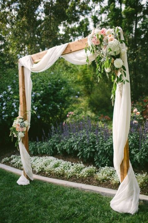 25 best ideas about wood wedding arches on pinterest