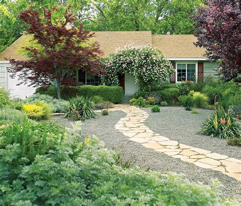 alternatives  grass front yard landscaping ideas