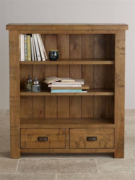 Small Office Bookcase by Ripley Sawn Solid Oak Small Bookcase Home Office