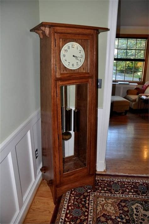 arts  crafts grandfather clock  rongoldberg