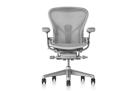 new aeron remastered chair by herman miller