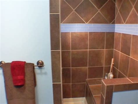 diy tile shower tile shower was built wallpapers