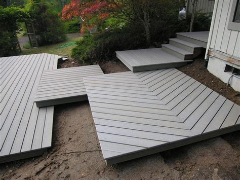 deck   build ground level deck plans