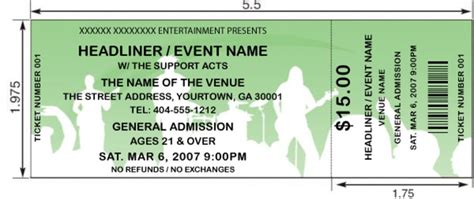 Concert Ticket Template  Peerpex. Cleaning Bid Proposal Template. Fathers Day Poster. Cabinet Hardware Installation Template. Feedback Form Template Word. Free Party Flyer Templates. Unique Billing Invoice Templates. Avery Name Tag Template. Cute Halloween Backgrounds