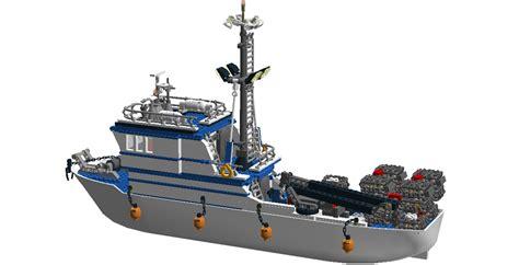 Lego Cargo Boat Sets by Lego Ideas Alaskan Crab Boat