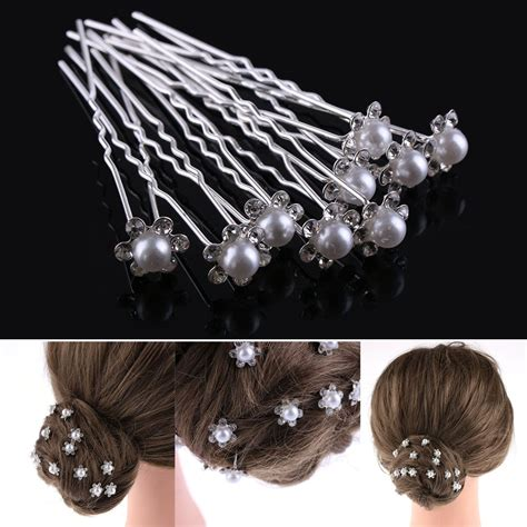 20 PCS Lovely Wedding Bridal Hairpin Crystal Rhinestone