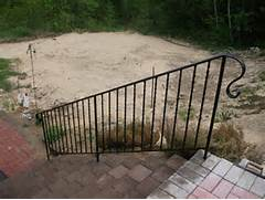 Outdoor Metal Handrails For Stairs by Metal Exterior Handrails For Stairs