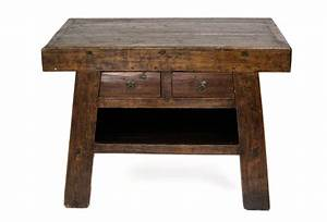 asian barn style side table omero home With barn style end tables