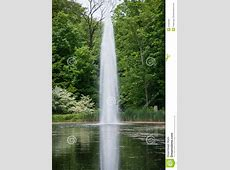 Water Spout in a Pond stock image Image of spout, valley