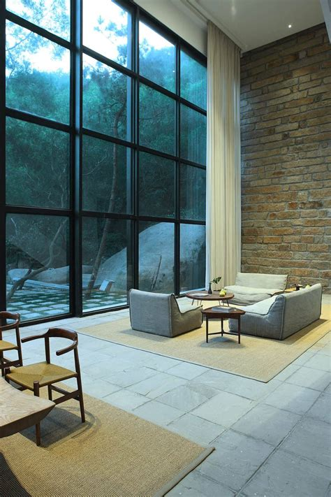 A Tranquil Getaway Home In China by Home Designing Via A Tranquil Getaway Home In China