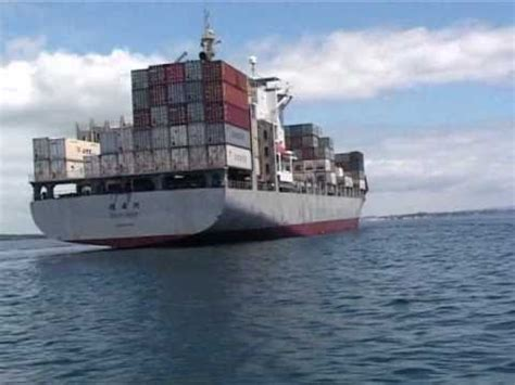 Small Boat On Larger Ship by Boats Near Big Ships Boat Safety In Nz Maritime New