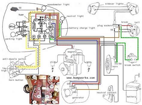Bmw R75 5 Wiring Diagram by Bmw Motorcycle Schematic Diagrams R51 3 R50 5 R60 5 R75 5