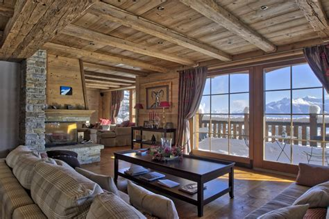 chalet house high end chalet with view of mont blanc 3 floors