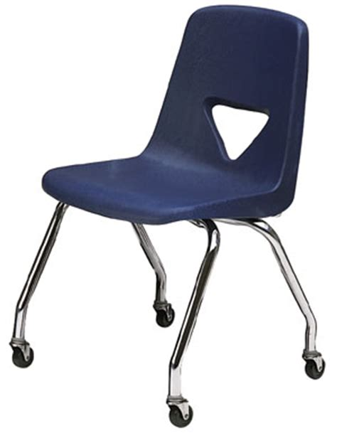 student rolling desk chair scholar craft teachers chair with casters 127c